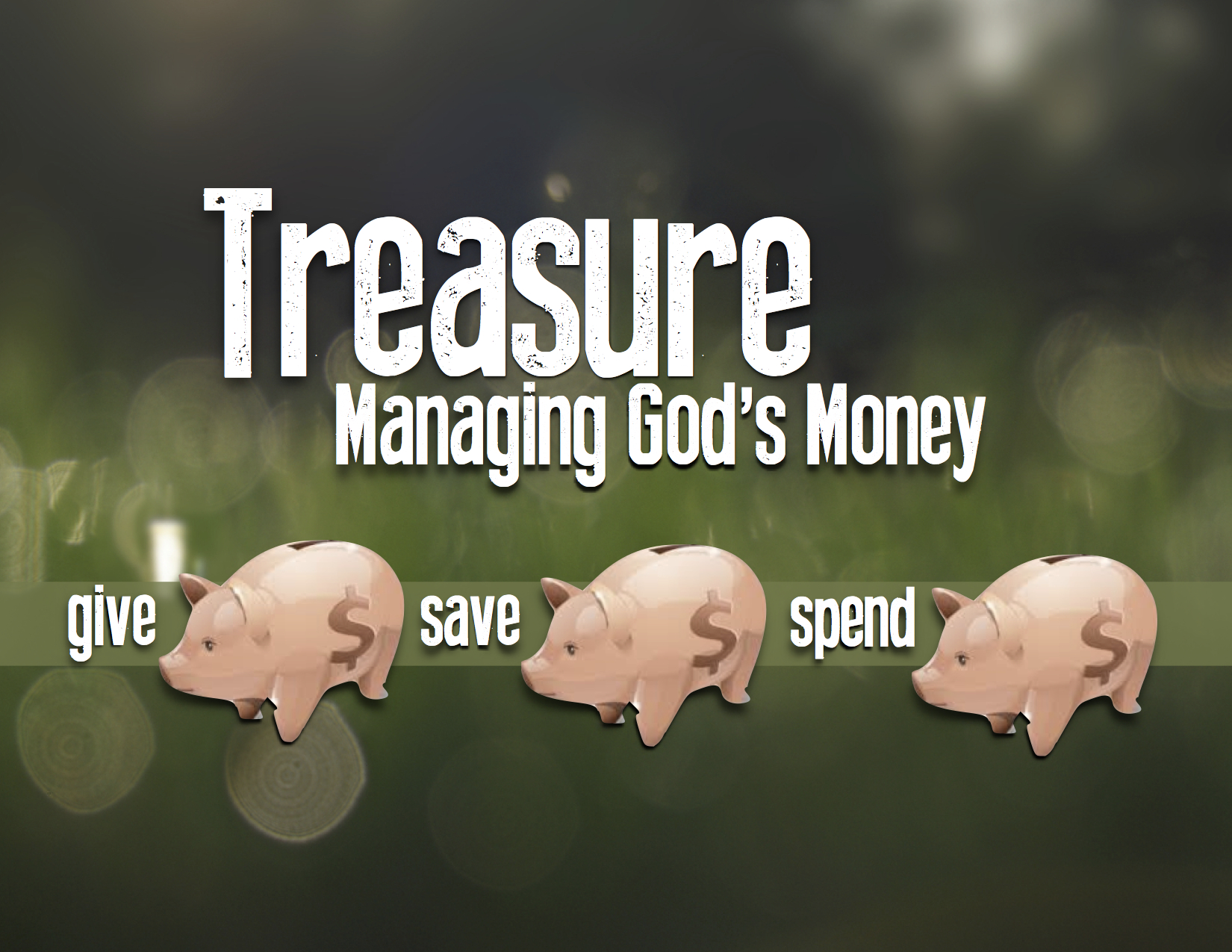 Treasure: Managing God's Money